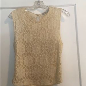 👚bebe lace top